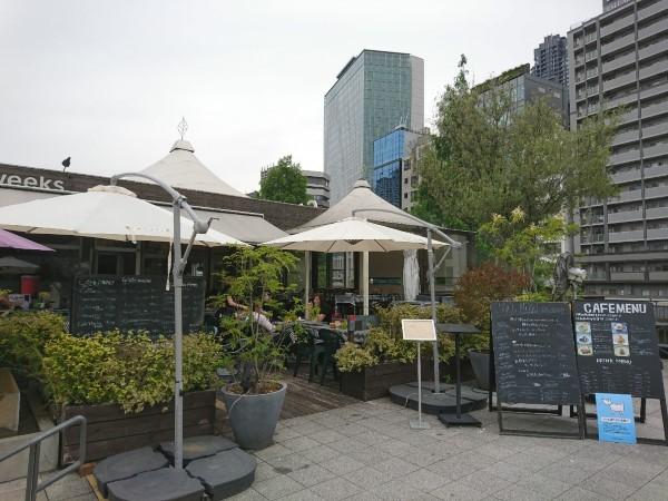 おすすめカフェ GARB weeks(大阪 中之島)